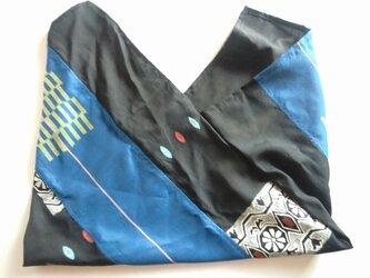 着物リメイク あずま袋  J2の画像