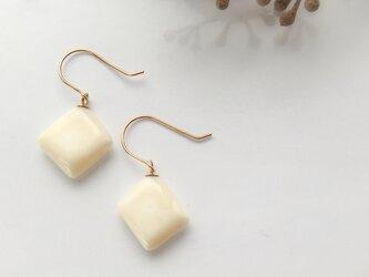 k10✼Makkoh pierced earrings 92024の画像