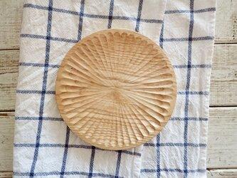 栗の皿32の画像