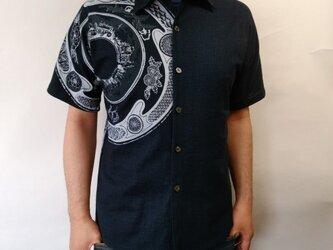 善工房×Ubatamaコラボシャツ(東京絵皿)の画像
