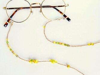 《グラスコード》キイロの実ノヨウナ チェコビーズの画像