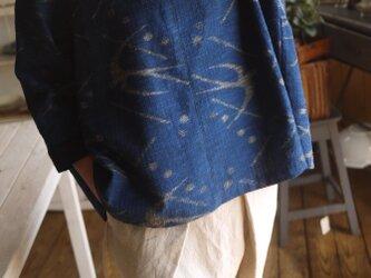 久留米絣4種後ろたっぷりタックのトップスの画像