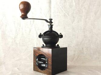【再販】森の朝のコーヒーミル 欅 (ml5)の画像