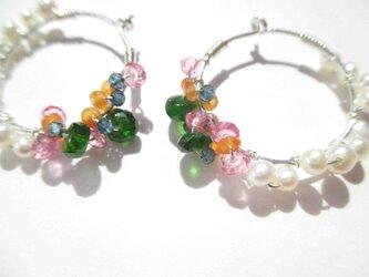 【romantic pierced earrings7】の画像