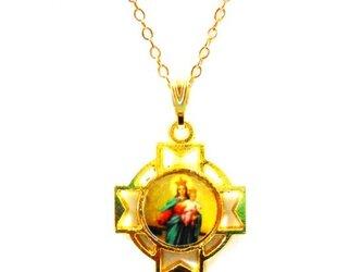 聖母子ペンダントネックレスの画像