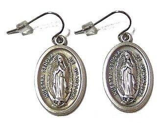聖母マリア様フックピアスの画像