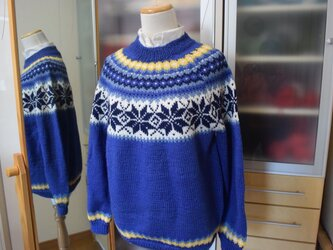 M様オーダー来冬用メンズセーターの画像