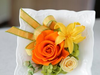 陶器フレーム(オレンジ)の画像