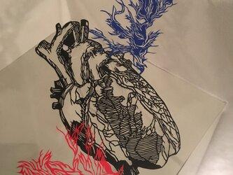 burning heartの画像