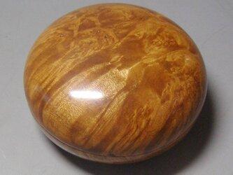 かりん瘤材で 制作した 香盒 ミニ食籠の画像