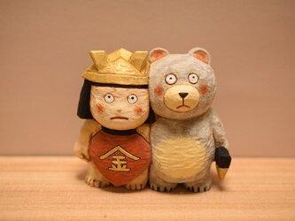 五月人形、金太郎クマの画像