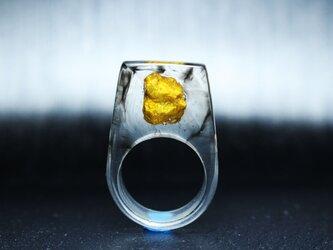 【送料無料Sale45%off】GOLD NUGGET~Resin Ring~の画像