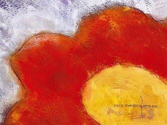 花 (額縁付き)の画像