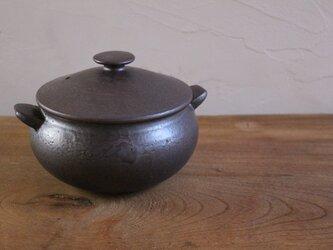 耐熱 鍋(小)の画像