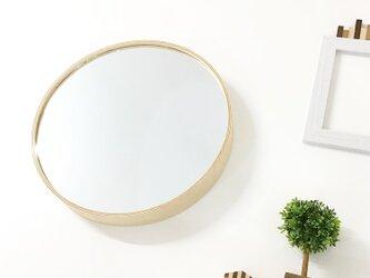KATOMOKU plywood mirror km-91N ナチュラル 鏡の画像