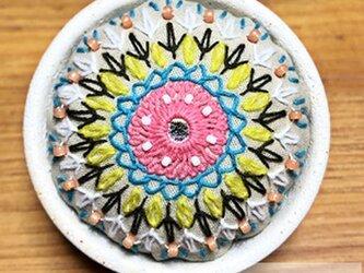 ミラーワークの針山(ピンクッション)の画像