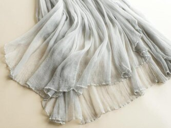 【受注製作】美しい100%シルクで・ロングスカートシルク の画像