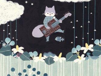 ポストカード「風来坊の音は雨にのる」2枚セット の画像