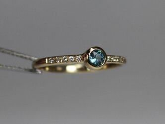 Grandidierite 3mm Ringの画像