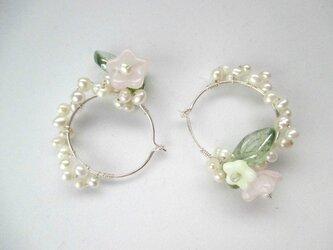 【romantic pierced earrings12】の画像