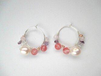 【romantic pierced earrings13】の画像