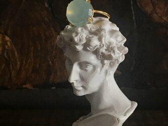 chalcedony ring (pastel blue)の画像
