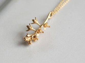 オリーブの花のネックレスの画像