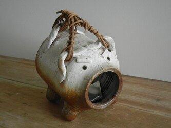 闘う蚊遣り豚(ミニ)の画像