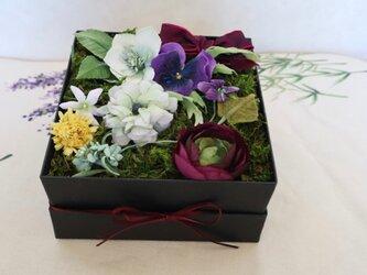 布花のSpring fulower box Mの画像