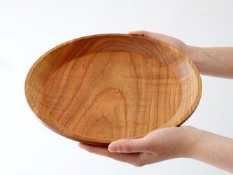 山桜のお皿〈9寸:27cm〉の画像