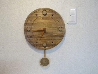 アカシアの振り子式掛時計NO2の画像