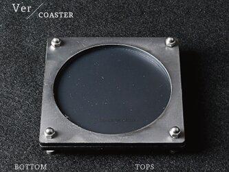 Joint Series COASTER コースター (黒皮鉄 × 酸洗鉄) - GRAVIRoNの画像