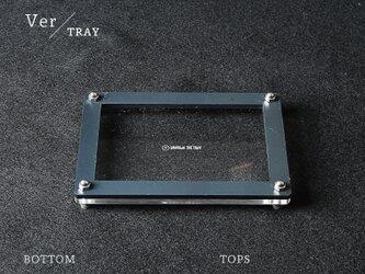 Joint Series Tray トレー (アクリル × 黒皮鉄) - GRAVIRoNの画像