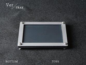 Joint Series Tray トレー (黒皮鉄 × 酸洗鉄) - GRAVIRoNの画像