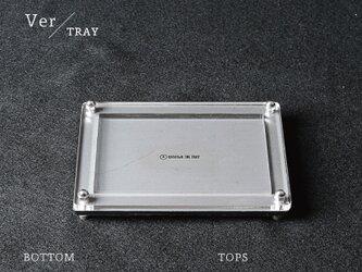 Joint Series Tray トレー (酸洗鉄 × アクリル) - GRAVIRoNの画像