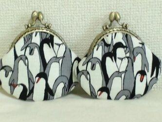 ちいさながま口(ペンギン)の画像