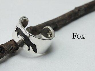 Cuff-Life Fox - キツネのイヤーカフ 幅6mmの画像