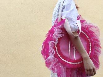 ふりふりモンスターbag-PINK-の画像
