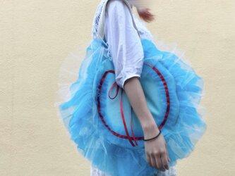ふりふりモンスターbag-BLUE-の画像