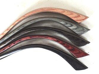 かんざし 積層強化木軸5色からモデルチェンジ、お風呂OKの画像
