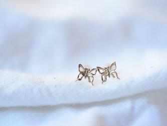 [10K]Butterflyピアスの画像