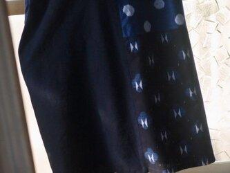 久留米絣4種のワンピースの画像