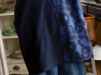 久留米絣3種ワンピース 半袖タイプの画像