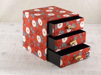 ツバキのたんす箱の画像