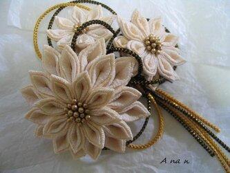選べる飾り紐付髪飾りセットの画像