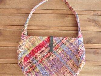 ◆SALE◆手織り 手提げバッグの画像