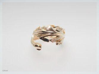 キュリアス フェザー リング   ゴールド&ロジウム(Curious Ring)の画像