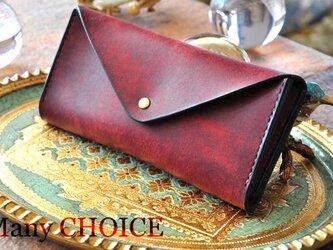 イタリアンレザー・革新のプエブロ・長財布2(コッチネラ)の画像