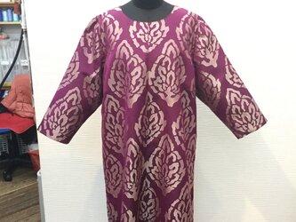 チュニック(着物リメイク服)の画像