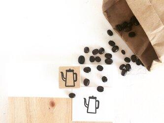 coffeeのアイコンはんこ『ポット』の画像